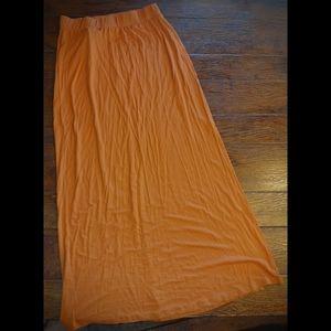 Rue 21 nwt burnt orange maxi skirt
